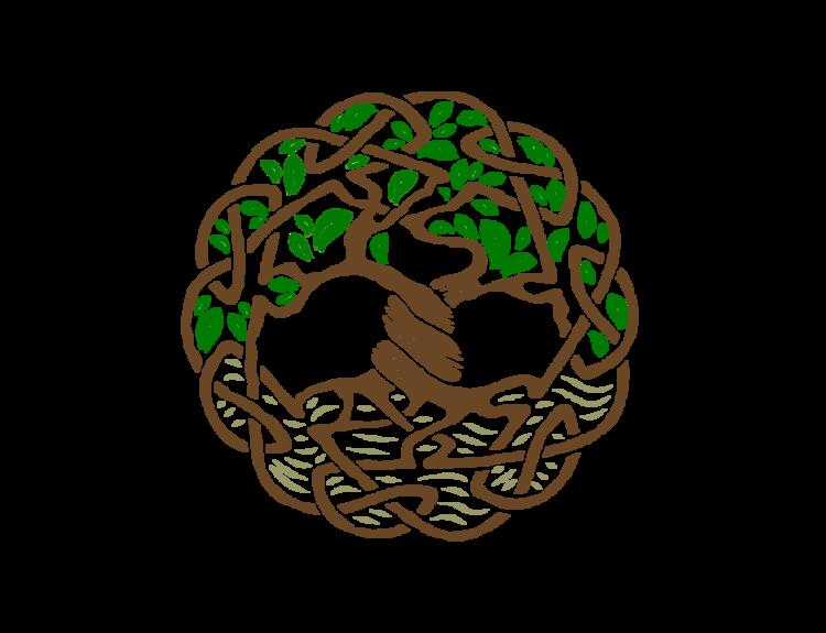 logo celtic tree agape home care