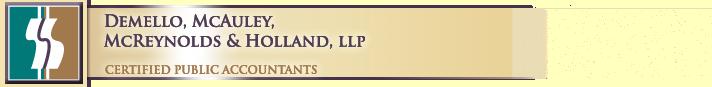 Logo Demello, McAuley, McReynolds & Holland LLP
