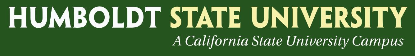 Logo Humboldt State University