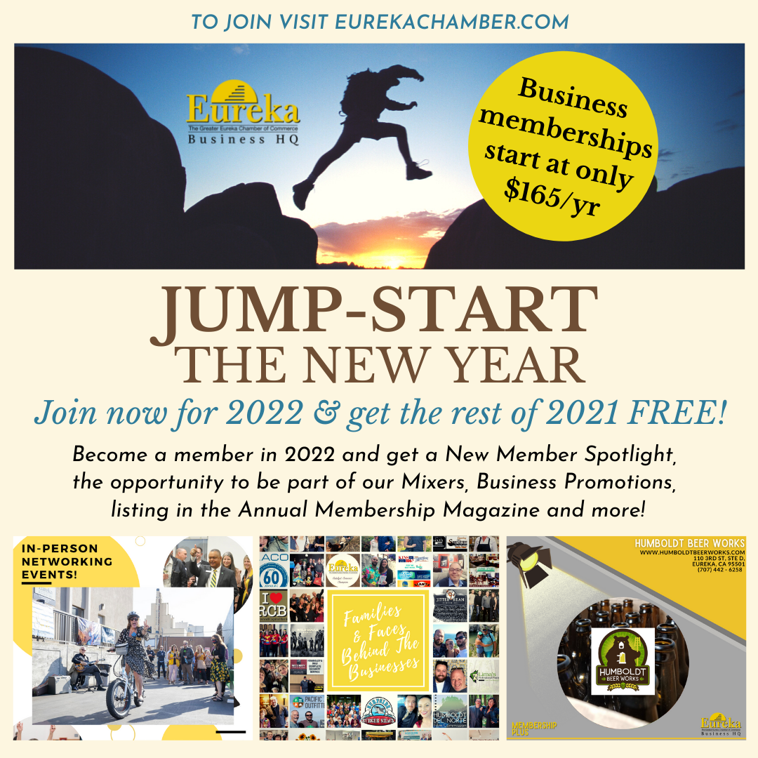 Join Eureka Chamber of Commerce Grow Your Business Membership Plus