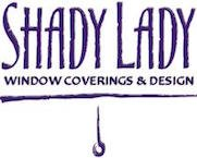 Logo Shady Lady Window Coverings & Design